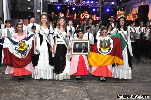 Soberanas da 6ª Festa Colonial de Barão - RS